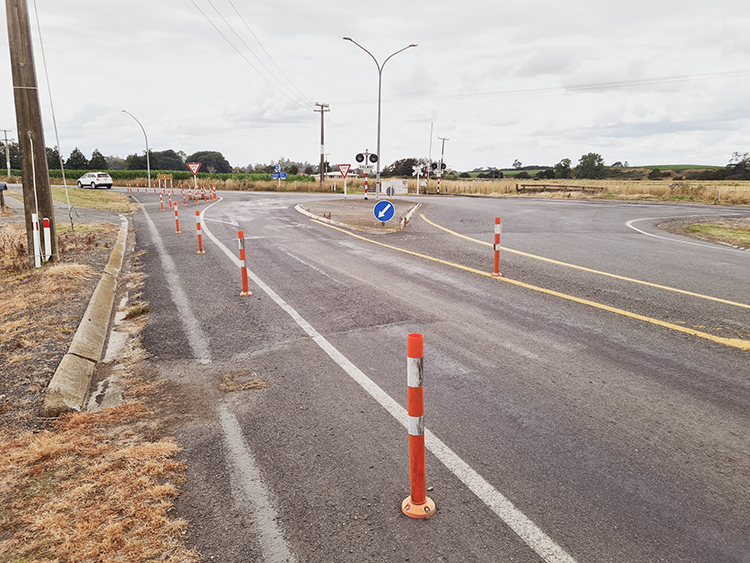 Photo of Kereone Road and Morrinsville-Walton Road intersection